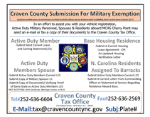Military and Base Exempt Flyer